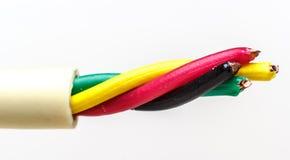 тип европейской державы кабеля 220v электрический Стоковые Изображения