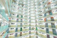 Тип здание Твин-Тауэрс в Гонконге стоковые изображения rf