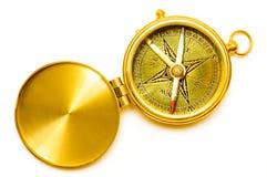 тип золота компаса старый Стоковые Изображения