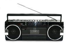 тип игрока кассеты 1980s пакостный старый Стоковые Фотографии RF