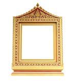 тип изображения золота рамки тайский Стоковые Фото