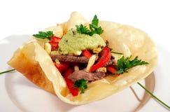 тип изолированный едой мексиканский Стоковая Фотография RF