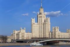 тип империи s stalin здания Стоковые Фотографии RF
