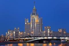 тип империи s stalin здания Стоковое Изображение