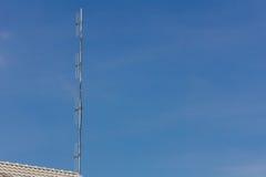 Тип диполя антенны Стоковое Фото