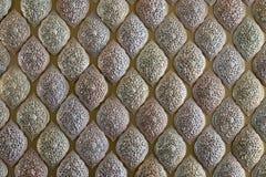 тип искусства тайский Высекать металла Стоковая Фотография RF