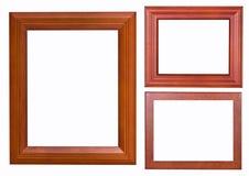 Тип древесины рамки Стоковые Изображения