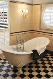 тип комнаты ванны классицистический Стоковые Изображения RF