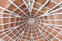 тип комнаты крыши palapa Мексики гостиницы Стоковые Изображения RF