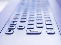 Тип конец клавиатуры кнопки вверх по концепции дела Стоковое Изображение