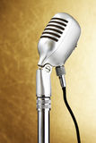 тип микрофона ретро Стоковое фото RF