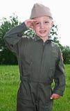 тип пилота военно-морского флота ребенка Стоковая Фотография RF