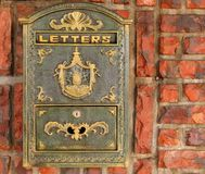 тип почтового ящика старый Стоковое Изображение RF
