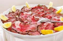 тип ресторана диска еды тарелки котлеты кулинарии Стоковые Фото