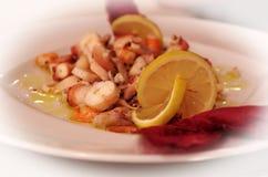 тип ресторана диска еды тарелки котлеты кулинарии Стоковое Изображение RF