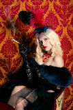 тип румян портрета moulin девушки Стоковая Фотография RF