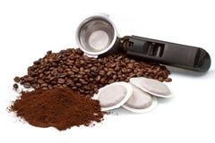 тип создателя кофе различный Стоковое фото RF