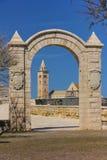 тип Тоскана romanesque европы Италии pisa собора Trani Apulia Италия стоковая фотография