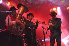 тип фольклорной музыкы полосы баварский Стоковая Фотография RF