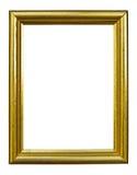тип фото изображения стародедовской рамки золотистый Стоковые Фото