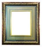 тип фото изображения стародедовской рамки золотистый Стоковое Изображение