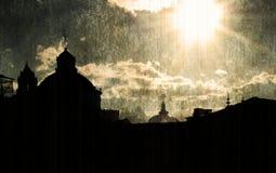 тип церков старый Стоковые Фото