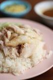 тип цыпленка испаренный рисом тайский Стоковая Фотография RF