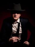 тип человека гангстера сигары chicago Стоковое Фото