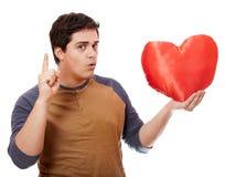 тип человека сердца Стоковое Фото
