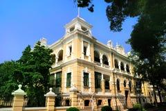 тип 19th столетия здания shamian западный стоковые изображения rf