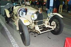 Тип 35A 1926 Bugatti, на 1000 милях участвует в гонке Стоковые Фото