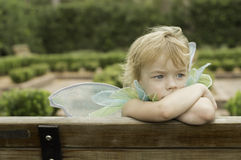 тип fairy девушки искусства задумчивый Стоковые Фото