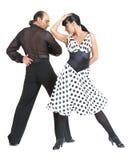 тип latina танцоров пар Стоковое Изображение