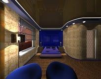 тип maya конструкции спальни Стоковое Фото