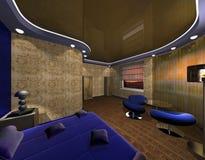 тип maya конструкции спальни Стоковое Изображение