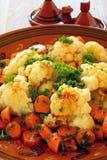 тип moroccan cauliflower морковей Стоковое Изображение