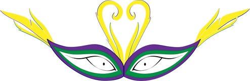 тип New Orleans маски mardi gras масленицы Стоковое Изображение RF