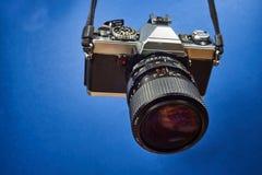 Тип SLR камеры фото Стоковое Изображение RF