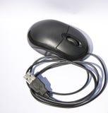 Тип usb мыши, с функцией переченя и выйденный и выполнить правый клик Стоковое фото RF