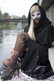 тип venice маски Стоковое фото RF