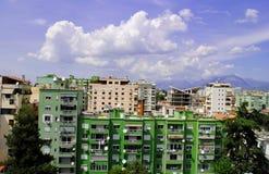 Тирана, столица Албании Стоковое Изображение