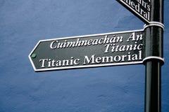 Титанический знак Стоковые Фотографии RF