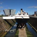 Титаническое здание и SS Nomatic Стоковая Фотография
