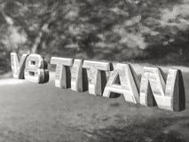 Титан Nissan Стоковое Изображение RF