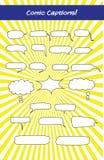 Титры для комиксов и диалога eLearning бесплатная иллюстрация