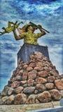 Титр короля стоковое изображение