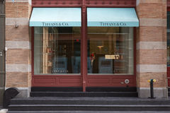 Тиффани e Co экстерьер магазина в St Greene, Нью-Йорке стоковое фото rf