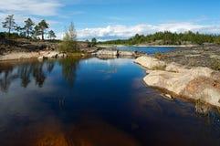 тихая вода стоковые фотографии rf