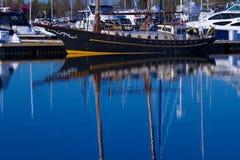 Тихая гавань Стоковое Изображение RF