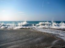 Тихая океан волна стоковое изображение rf